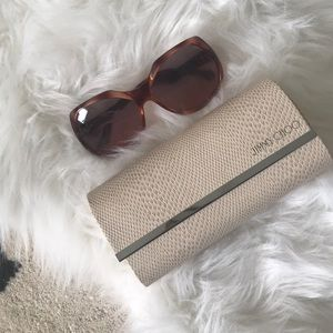 Jimmy Choo sunglasses with case